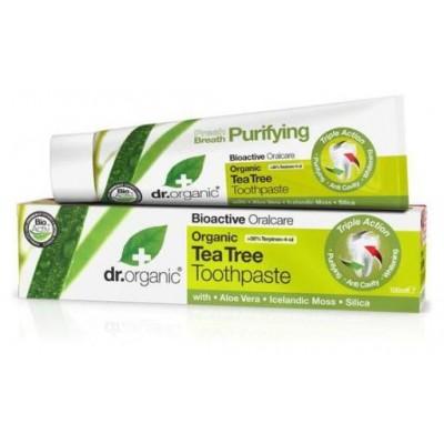 Pasta Dental Árbol del té Dr Organic Doctor Organic DR00153A Dentrificos , Pasta de Dientes salud.bio