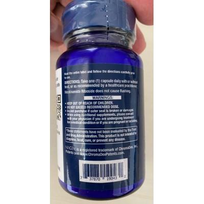 NAD+ Cell Regenerator Nicotinamide Riboside 100 mg, de Life Extension LifeExtension  Patologías e indicaciones salud.bio