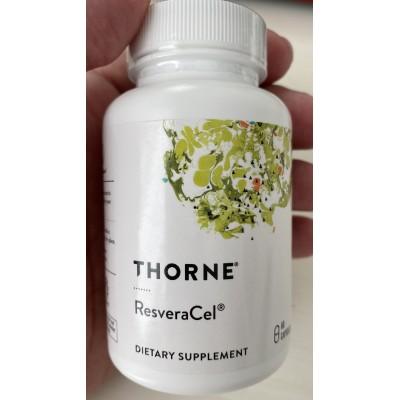 ResveraCel Nicotinamide Riboside 300 mg, plus de Thorne LifeExtension  Patologías e indicaciones salud.bio
