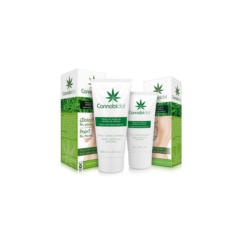 Cannabidol (CBD) en Crema de Laboratorios Tegor Tegor  Suplementos Naturales acción Analgesica, Antiinflamatoria, malestar, d...