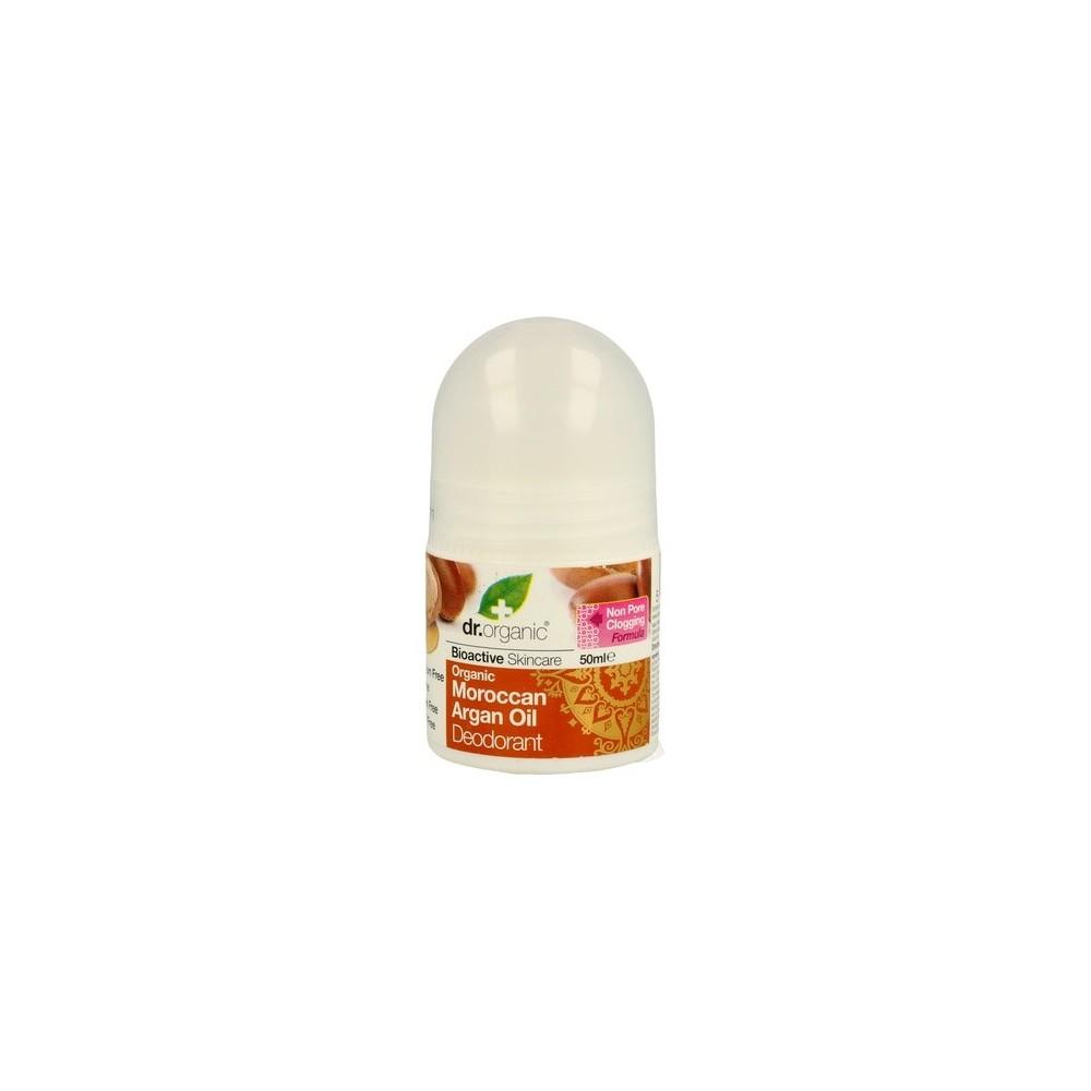 Desodorante de Aceite de Argan Marroqui Organico 50ml Dr Organic Doctor Organic DR00376 Cuidado externo e higiene salud.bio