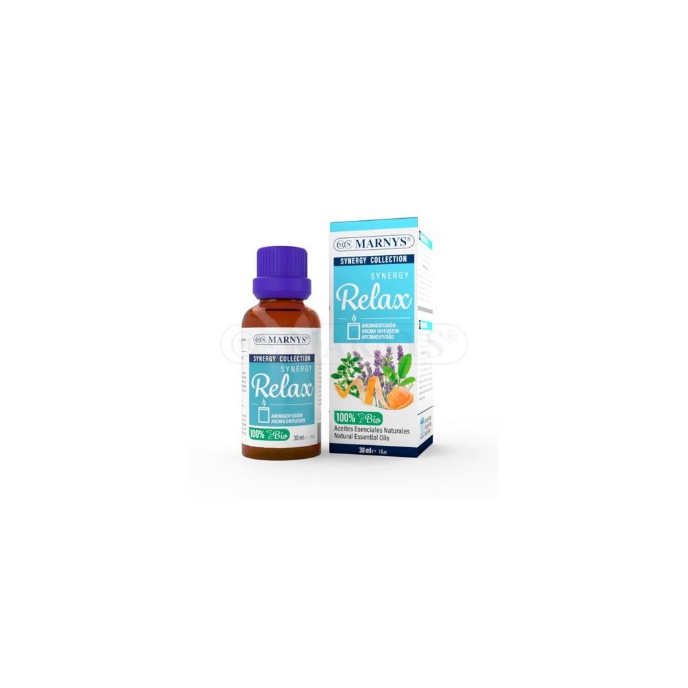 Synergy Relax de Marnys Marnys AE199 Aromaterápia salud.bio