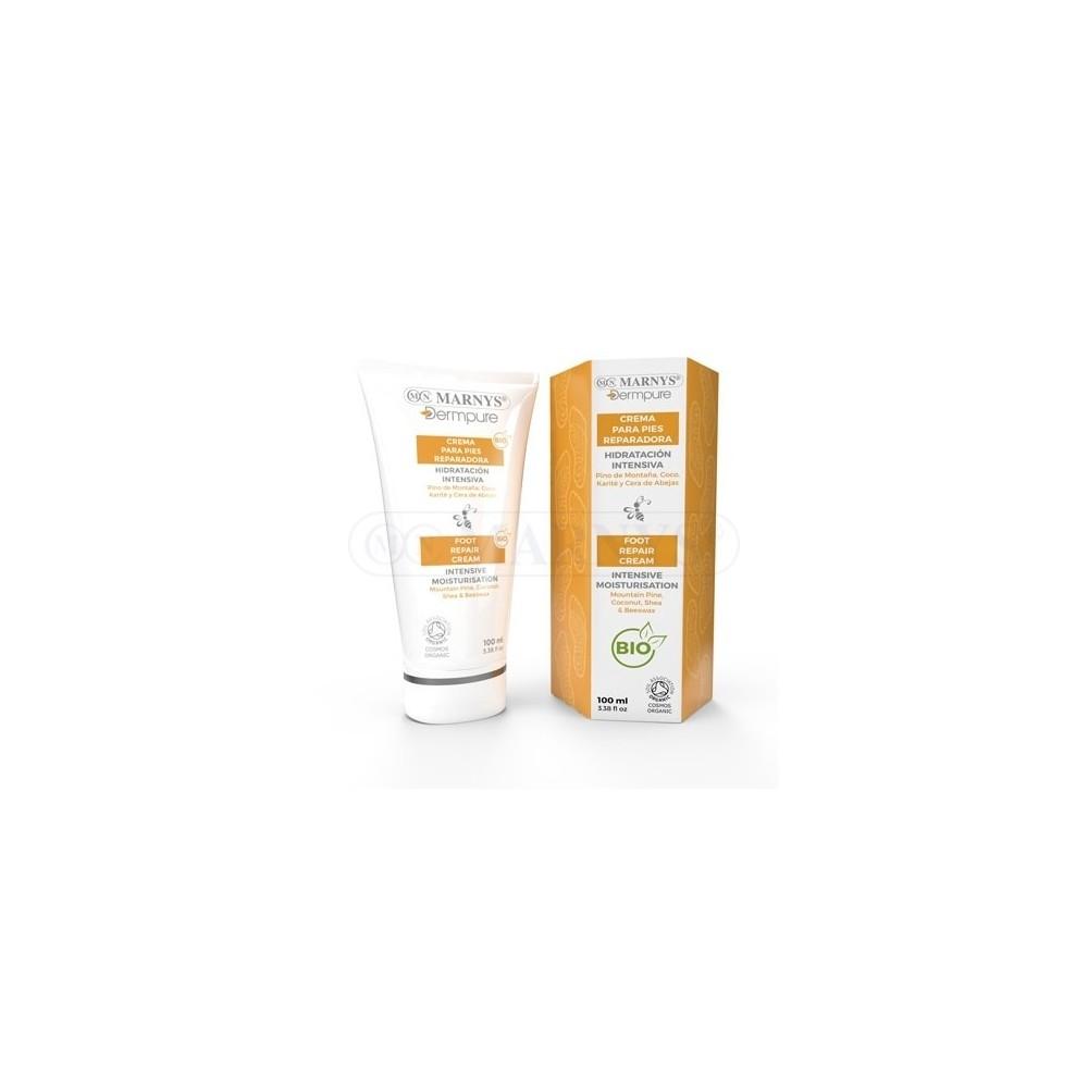 Crema para pies reparadora Marnys DERM005 Cosmética Natural salud.bio