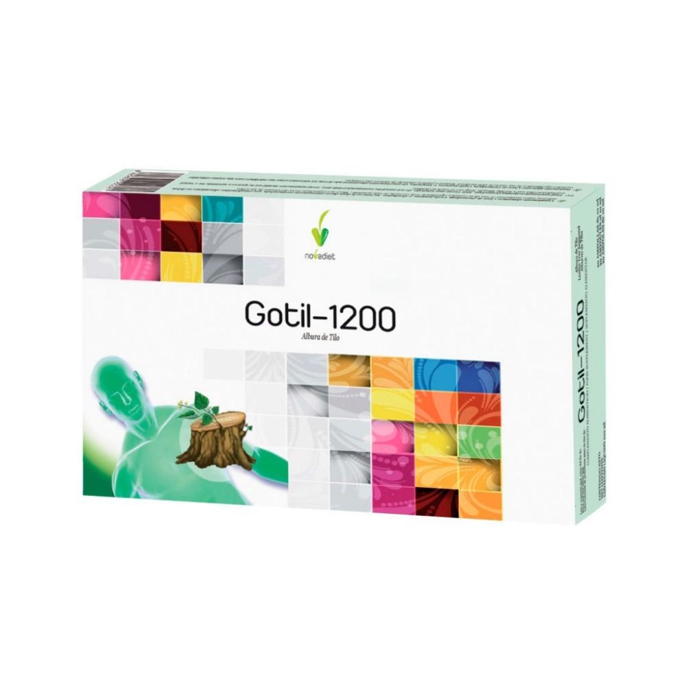 Gotil 1200 de Novadiet Novadiet 55036 Higado y sistema hepatobiliar salud.bio
