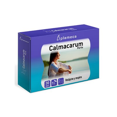 Calmacarum Forte de Plameca Plameca 451000 Estados emocionales, ansiedad, estrés, depresión, relax salud.bio