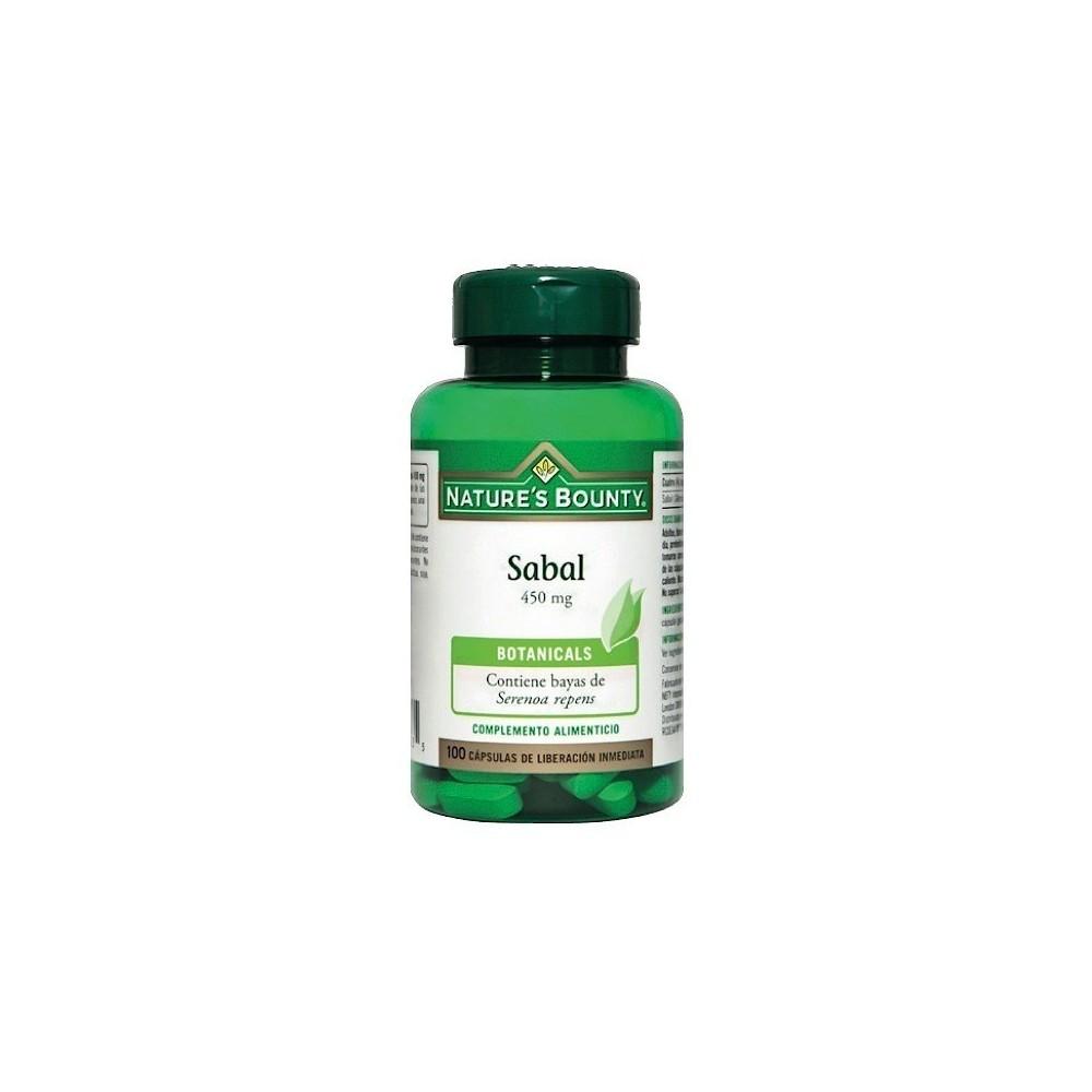 Sabal 450 mg. de Nature´s Bounty (100 Cápsulas) NATURE´S BOUNTY 03548 Inicio salud.bio