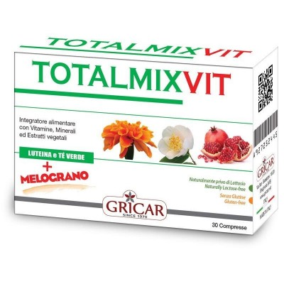 Multivitaminico Totalmix Vit 30 comprimidos de Gricar Herbofarm IN N009 Inicio salud.bio