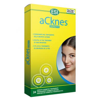 Acknes Mini Parche transparente Arbol Del Te de ESI ESI LABORATORIOS 53010411 Aceites esenciales uso topico salud.bio