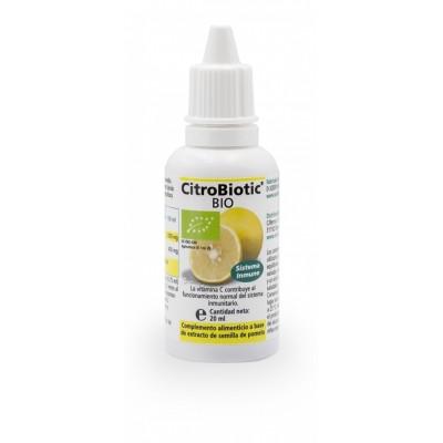 Citrobiotic® BIO (líquido) semilla pomelo de Sanitas Sanitas Gmbh & Co. KG  Ayudas aparato Digestivo salud.bio