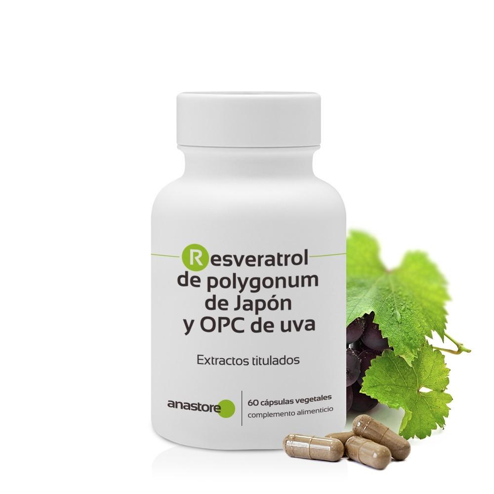 Resveratrol de polygonum de Japón y OPC de uva de Anastore Bio Anastore Bio FF11 Patologías e indicaciones salud.bio