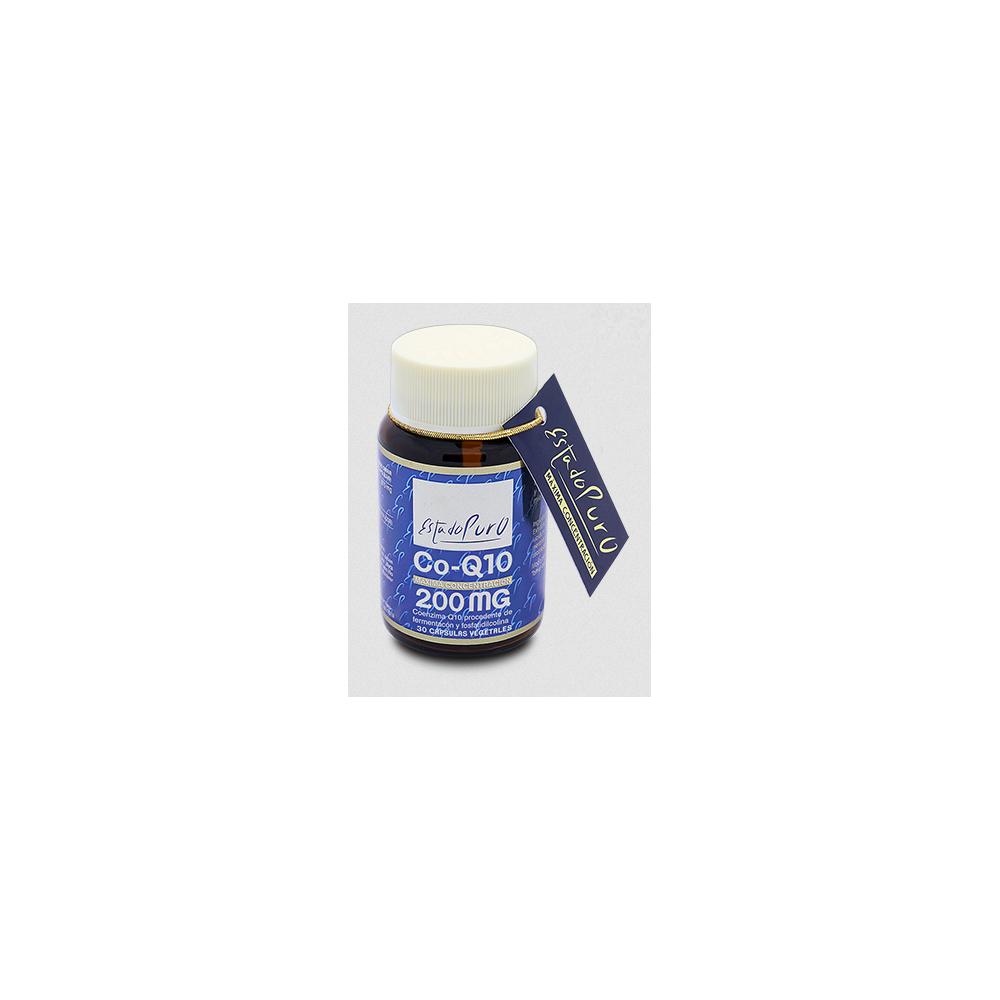 Coenzima Q10 (Ubiquinona) 200mg 30 cap vegetal de TonGil Tongil (Estado Puro) M18 Antioxidantes salud.bio