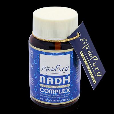 NADH Complex 20 cápsulas Vegetales de Estado Puro (Tongil) Tongil (Estado Puro) M49 Antioxidantes salud.bio