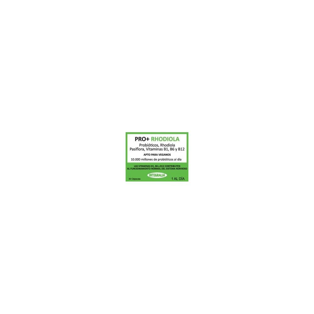 Pro+ Rhodiola con Probioticos de Integralia INTEGRALIA 532 Piel, Cabello y Uñas, Complementos y Vitaminas salud.bio