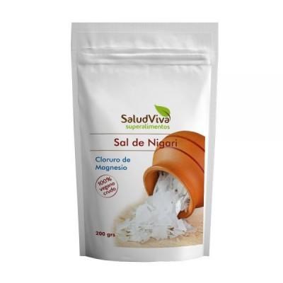 Sal de Nigari – Cloruro de Magnesio de Salud Viva SaludViva 1392 Suplementos Minerales  salud.bio