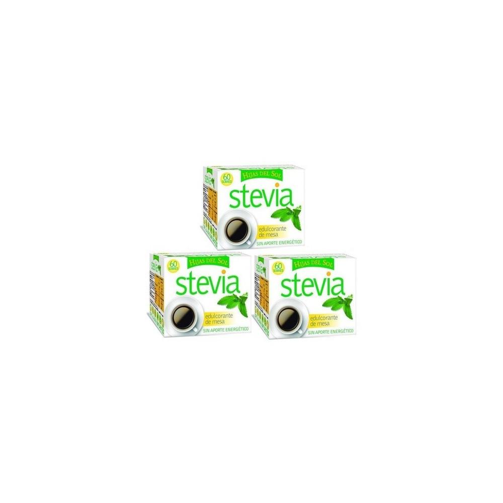 Stevia edulcorante de mesa 60 sobres Hijas del sol de Ynsadiet  0780015553 Edulcorantes salud.bio