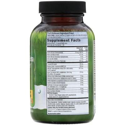 Quemador de grasa con testosterona extra, 60 cápsulas blandas de Irwin Naturals Irwin Naturals IRW-59676 Suplementos Deportiv...