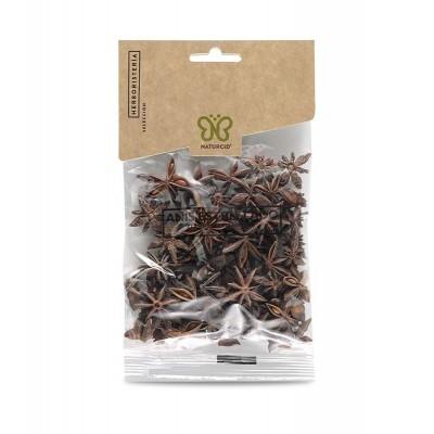 Anis Estrellado (illicium verum) 50g de Naturcid Naturcid S.L. 14150 Plantas Medicinales salud.bio