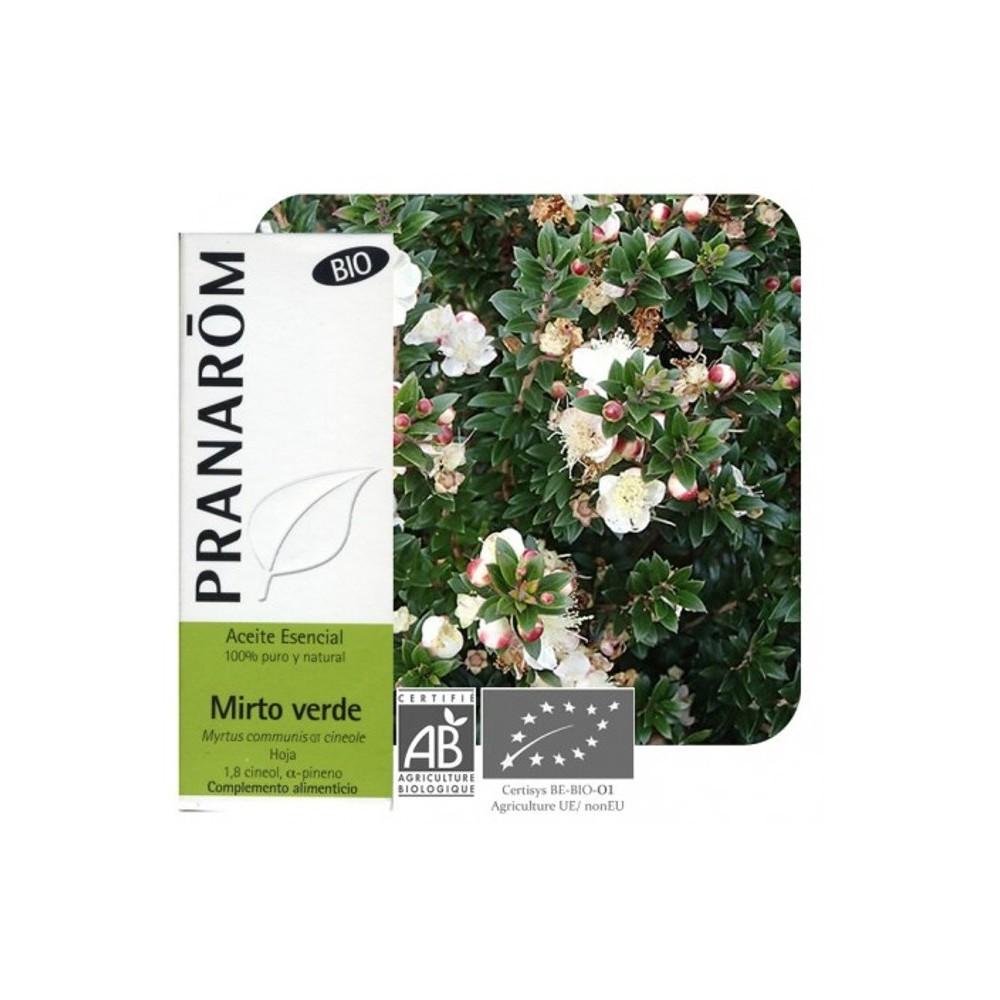 Mirtilo Verde Aceite Esencial Natural BIO Quimiotipado de Pranarôm Pranarom 222435 Aceites esenciales uso interno salud.bio
