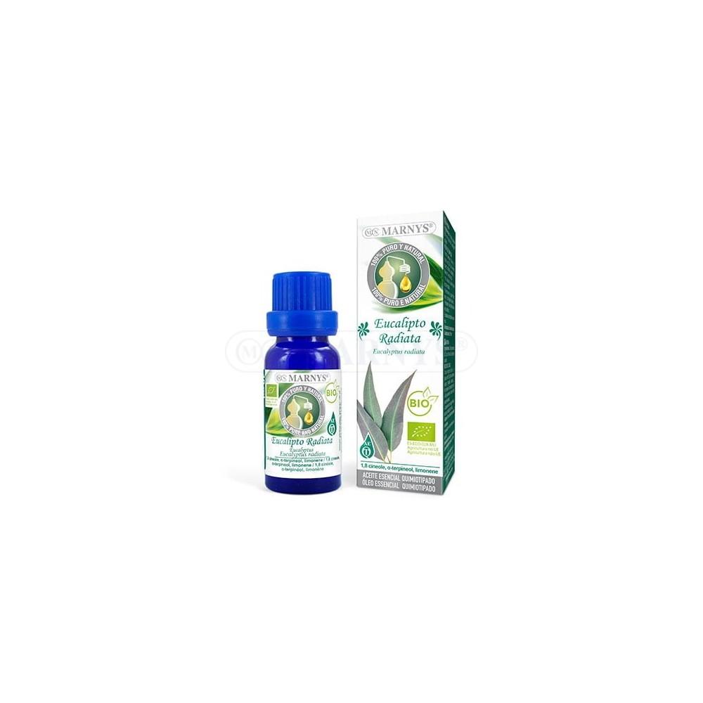 Aceite esencial de Eucalipto RADIATA BIO 10ml de Marnys Marnys AA042 Aceites esenciales uso interno salud.bio