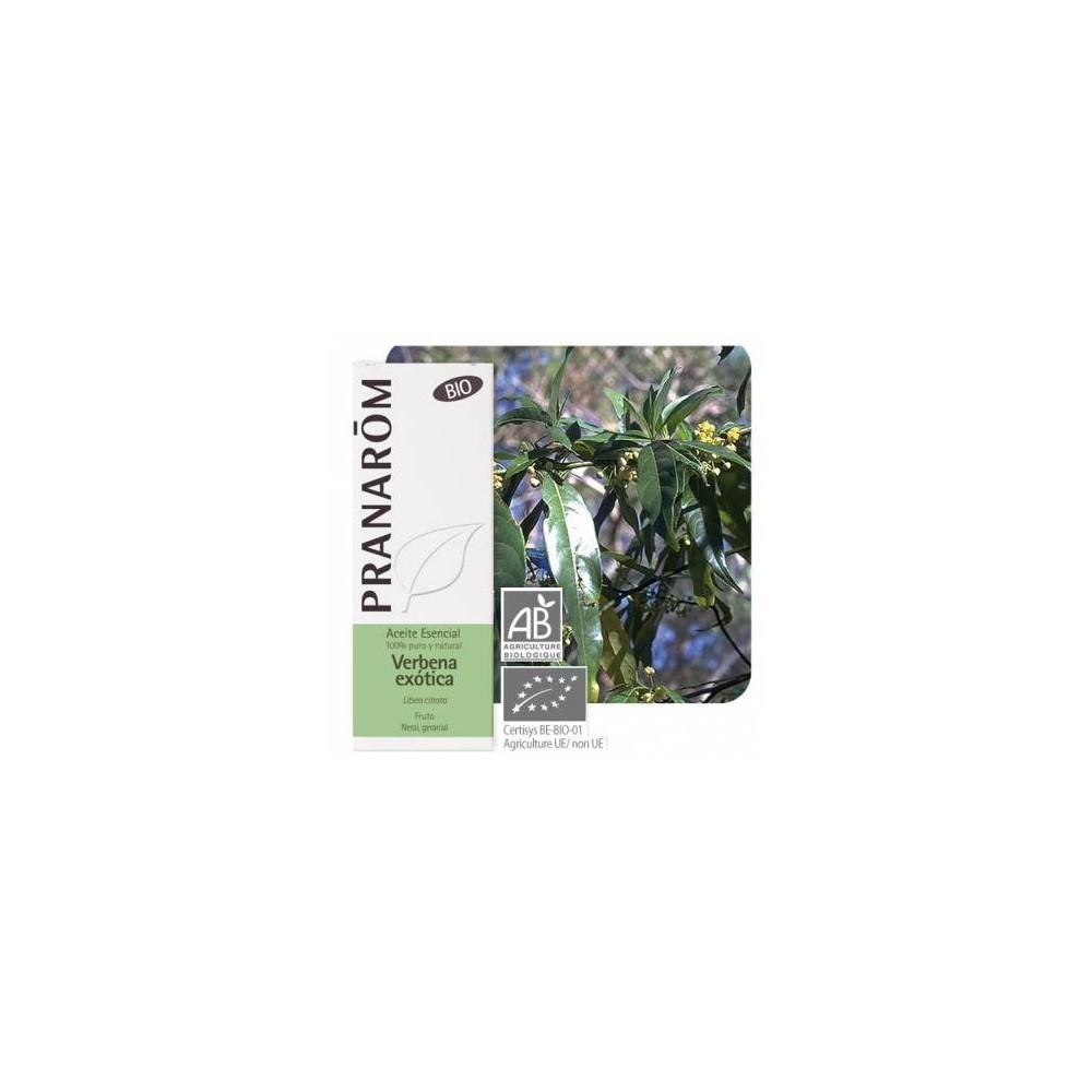 Verbena exótica Aceite Esencial Natural Quimiotipado de Pranarôm Pranarom 227376 Aceites esenciales uso interno salud.bio