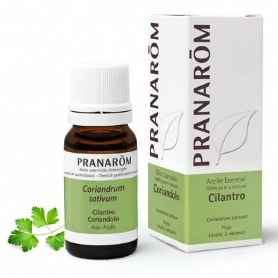 Cilandro Aceite Esencial Natural Quimiotipado de Pranarôm Pranarom 22198 Aceites esenciales uso interno salud.bio