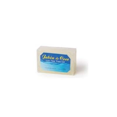 Jabon de Coco con Aceite del Arbol del Té de Artesanía Agrícola Artesania Agricola, S.A. 041011 Cuidado externo e higiene sal...
