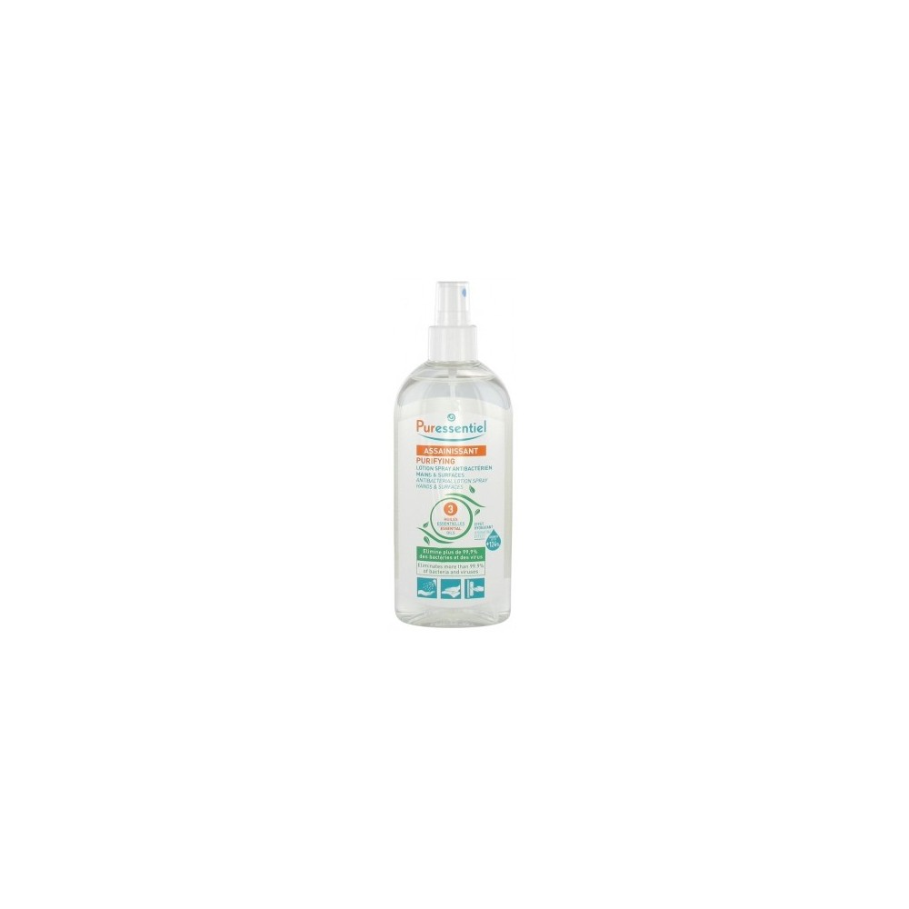 Puressentiel Purificante Loción Spray Antibacteria  Puressentiel Laboratorios  PURIFYING Aromaterápia salud.bio