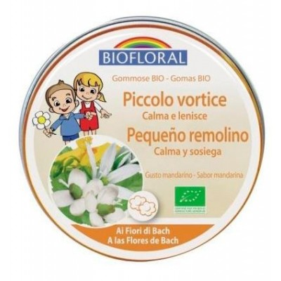 Gominolas Pequeño Remolino (torbellino) BIO (con flores de Bach) Biofloral BF004601 Flores de Bach salud.bio