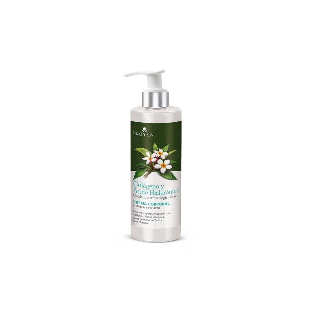 Crema locion corporal Colágeno y ácido hialurónico 300 ml de Natysal Natysal 13519 Cosmética Natural salud.bio