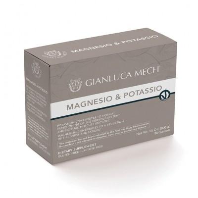 Magnesio y Potasio 20 sobres de Gianluca Mech GIANLUCA MECH GFI0500 Inicio salud.bio