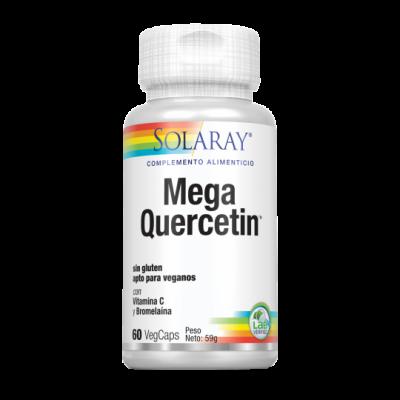 Mega Quercetin™ 60 VegCaps. Sin gluten Apto para veganos de Solaray SOLGAR 44686 Sistema respiratório salud.bio