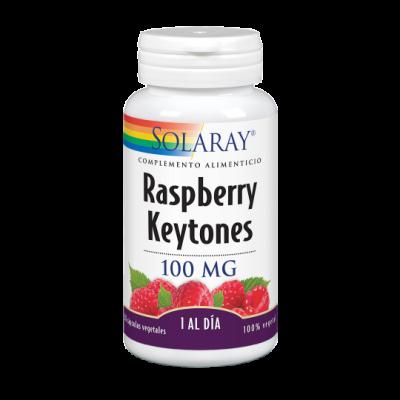 Raspberry Ketones 30 VegCaps. Apto para veganos de Solaray INTEGRALIA 49787 Control de Peso salud.bio