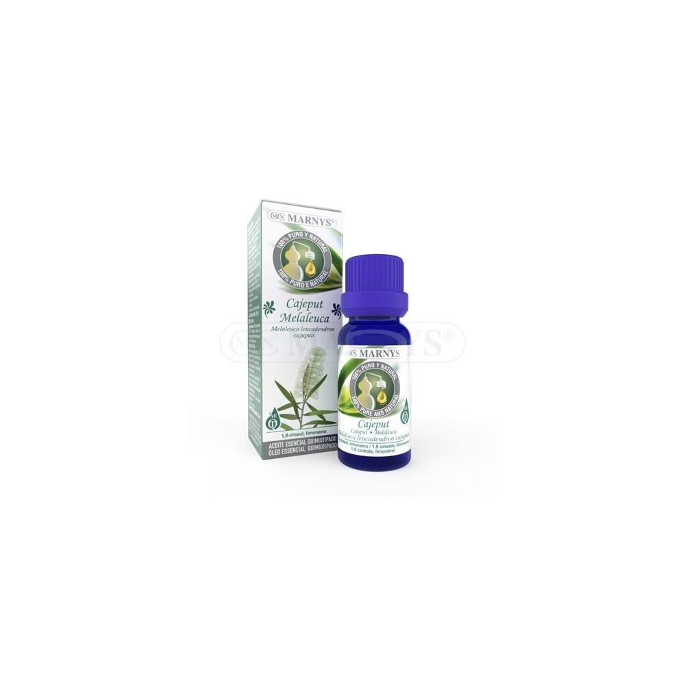 Aceite Esencial de Cajeput Quimiotipado de MARNYS Marnys AA031 Aceites esenciales uso interno salud.bio