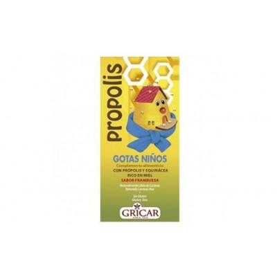 PRÓPOLIS Gotas NIÑOS (50 ML) de Herbofarm Herbofarm GRI39697 Inicio salud.bio