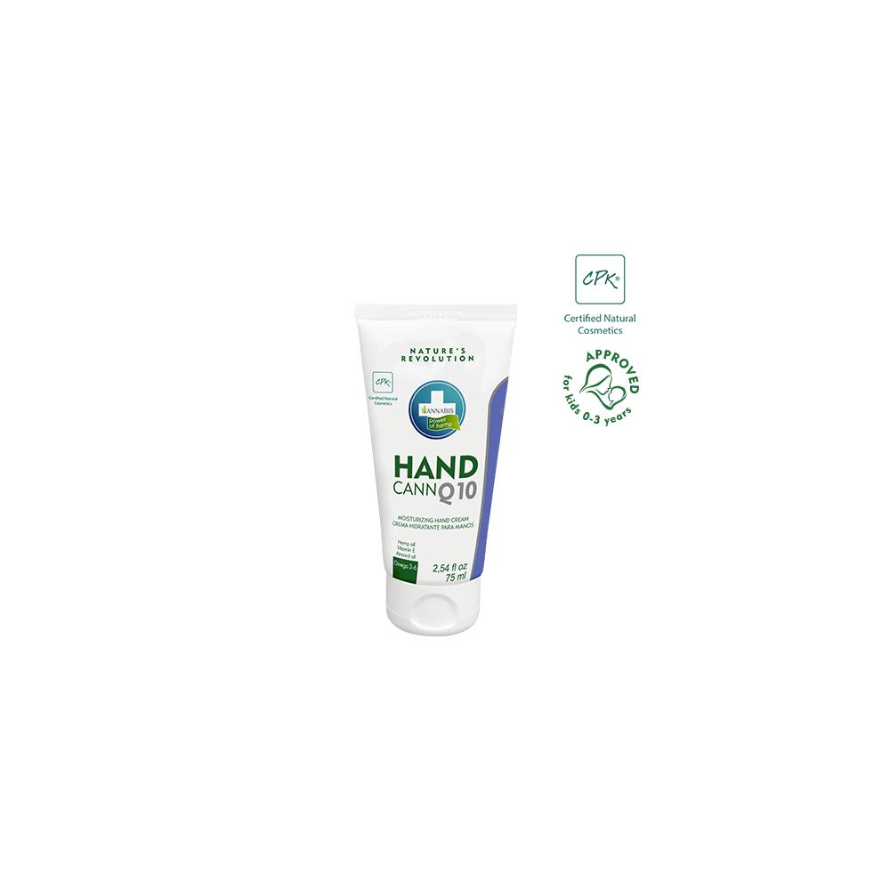 HANDCANN Q10 – Crema de Manos Natural de Cáñamo Hidratante y Regeneradora de Annabis Annabis productos Naturales  2016 Cosmét...