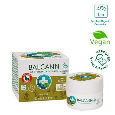 BALCANN HEMP BALM – Bálsamo orgánico de cáñamo para piel atópica de Annabis Annabis productos Naturales  2001-80 Cosmética Na...
