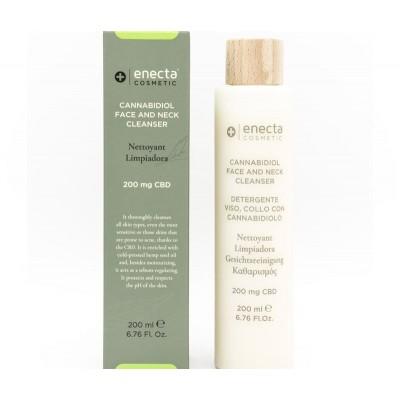 Gel Limpiador Facial con CBD (200 mg) de enecta enecta 1006 Cosmética Natural salud.bio