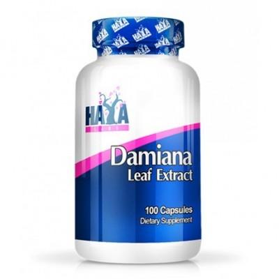 Hojas de Damiana - 100 Caps de Haya labs Haya Labs LLC 20804 Libido hombre y mujer salud.bio