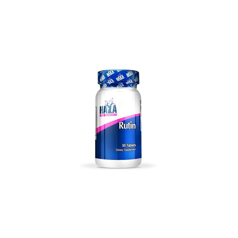 Rutina (Rutin) 500mg. 50 Tabs de Haya labs Haya Labs LLC 20790 Aminoácidos salud.bio