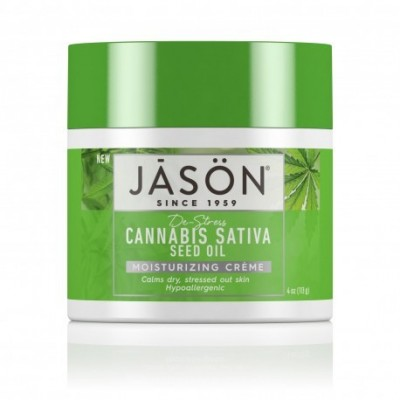JASÖN Crema Facial Hidratante Cannabis Sativa 113g JĀSÖN 300120 Cosmética Natural salud.bio