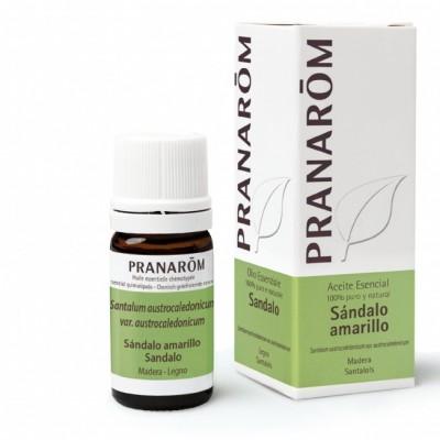 Sándalo Amarillo 5ml Aceite Esencial Natural Quimiotipado de Pranarôm Pranarom 225439 Acéites esenciales salud.bio