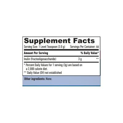 Prebiotico Inulina 200 Gramos de Haya labs Haya Labs LLC 16388 Quemagrasas y similares salud.bio