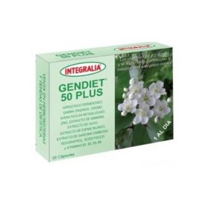 Gendiet 50 Plus 30 cápsulas de Integralia INTEGRALIA 435 Inicio salud.bio