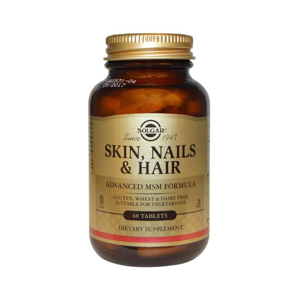 Pelo, piel y uñas (Skin, Nails and Hair) 60 Comprimidos SOLGAR  Inicio salud.bio