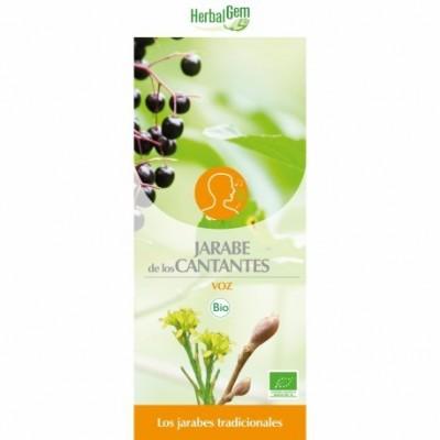 Jarabe de los Cantantes 250 ml HerbalGem Herbalgem  Inicio salud.bio