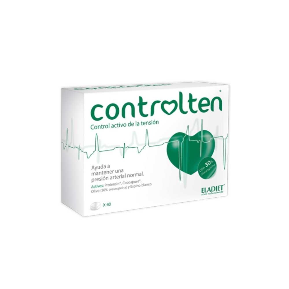 CONTROLTEN 60 Comprimidos de ELADIET ELADIET Elaborados Dieteticos, s.a. PA.FE.CTEN Ayuda control Tension salud.bio