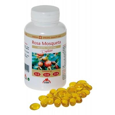 Aceite vegetal de Rosa Mosqueta 100 perlas de Intersa INTERSA 50191 Inicio salud.bio