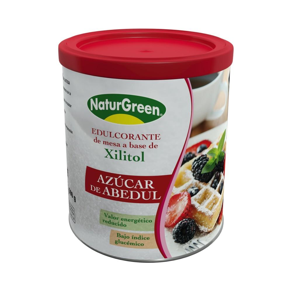 Azúcar de Abedul – Xilitol 500 g de NaturGreen Naturgreen 0290015999 Inicio salud.bio