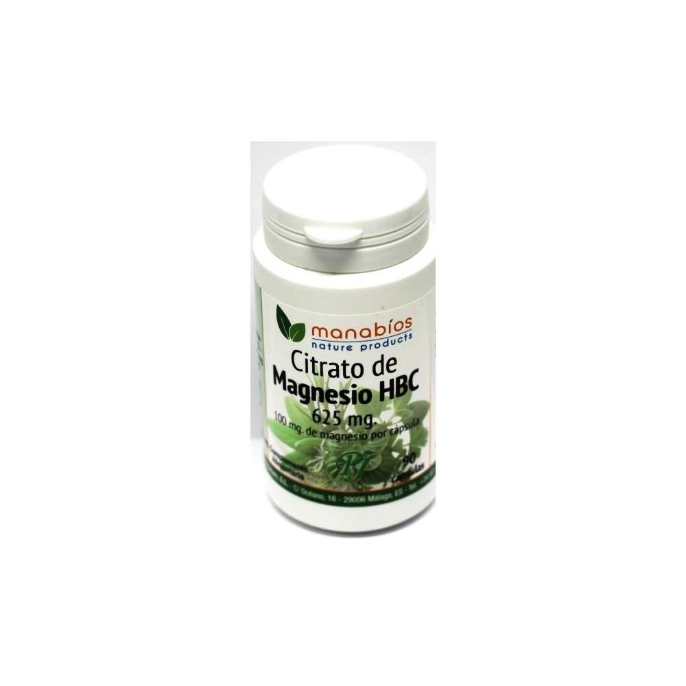 Citrato de Magnesio 625mg 90 cápsulas - Manabios Manabios 111444 Inicio salud.bio