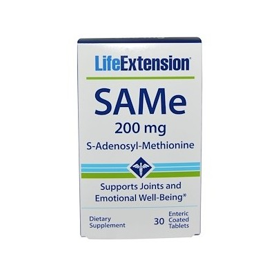 SAMe 30 comprimidos 200 mg de Life Extension LifeExtension LEX-19353 Inicio salud.bio